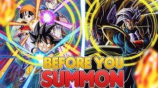 Before You Summon NEW LR Super Baby 2 & LR Goku, Pan, Trunks on Global Dokkan Battle