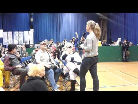 Veronica Taylor talks to Burnett! Sunnycon 2012 Q&A Panel - Is Giovanni Ash