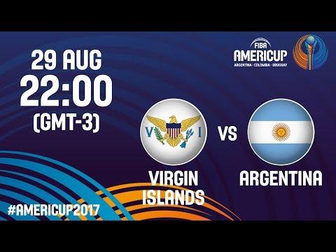 Virgin Islands v Argentina - Full Game