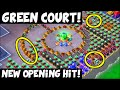Green Court: New Opening Hit! 2 Shields + 7 Rockets! ✦ Boom Beach