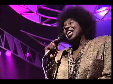 Randy Crawford Live vocal Almaz on Top of the pops 87