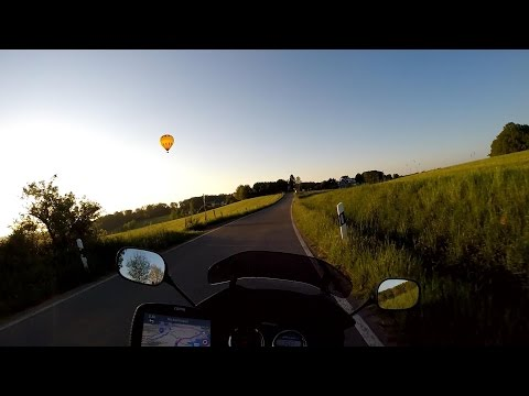 Riding My Motorcycle Through Beautiful Western Germany