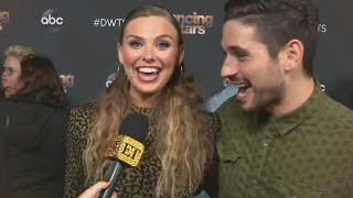 DWTS: Hannah Brown and Alan Bersten React Their High Scores and Last Week's Drama (Exclusive)