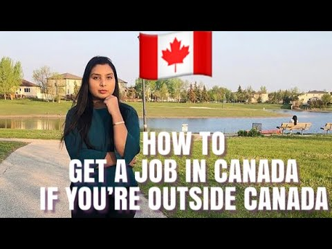 How To Get A Job In Canada If You're Outside Of Canada| Canada Vlogs