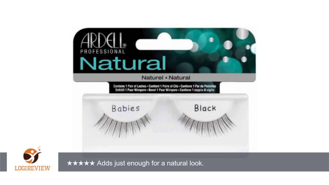 e42cc6dfe30 Ardell Invisiband Lashes, Babies Black, 1 Pair (Pack of 3) | Review/Test