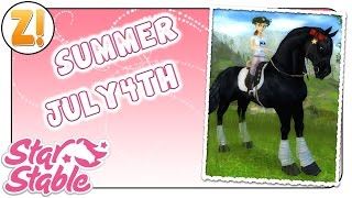Star Stable [SSO]: SUMMER & JULY4TH [Nordamerika] ✿ Gutschein-Video ✿