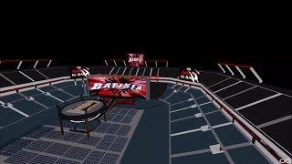 Roblox WWE - Batista Wrestlemania 35 tron testing