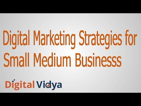 Digital Marketing Strategies for Small Medium Businesses