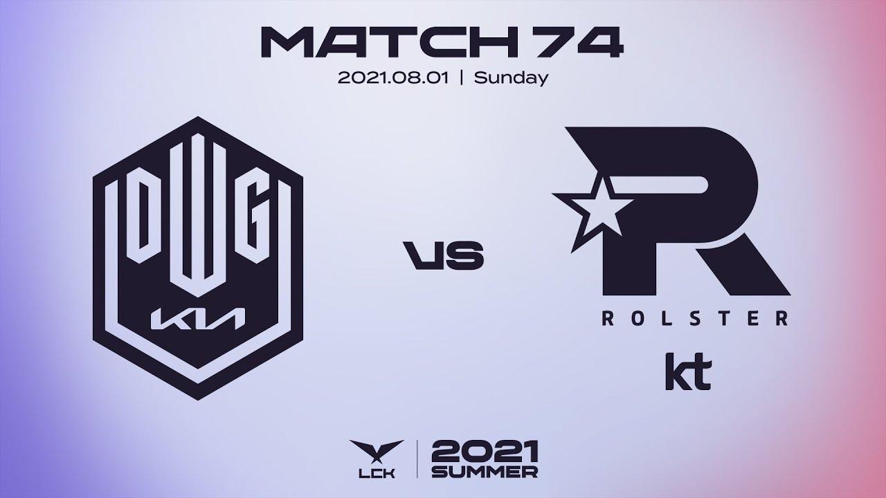 담원기아 vs. KT   매치74 하이라이트   08.01   2021 LCK 서머 스플릿