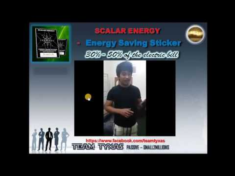 Surich  - Scalar Energy Sticker -Surich  - English by Benedict C