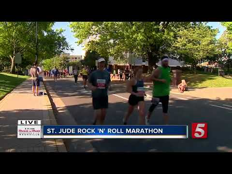 Roosevelt Cook Wins St. Jude Rock 'N' Roll Half-Marathon In Nashville