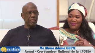 Sortie avec Me Mame Adama GUEYE ( Avocat - Coordonateur National de la «POSE»)
