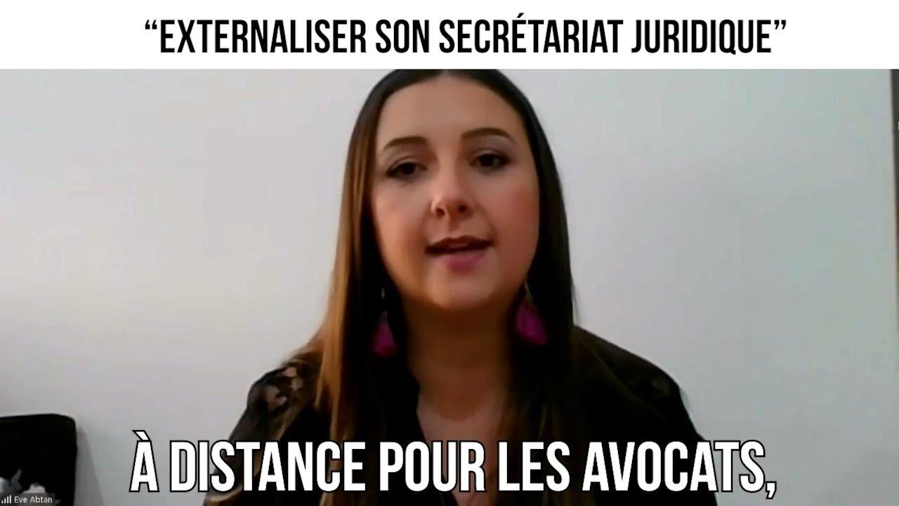 """ Externaliser son secrétariat juridique"" - CDP#303"