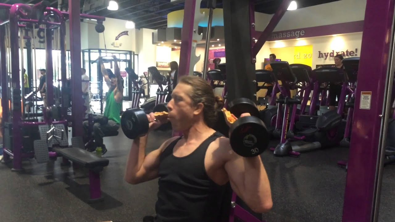 pizza day at planet fitness youtube