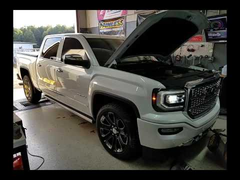 2016 GMC Denali Dyno Video- VMS Tune Only (no mods) - YouTube