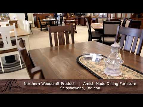 Northern Woodcraft Products Amish Dining Furniture Shipshewana In You