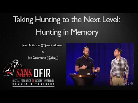 Taking Hunting to the Next Level: Hunting in Memory - SANS T