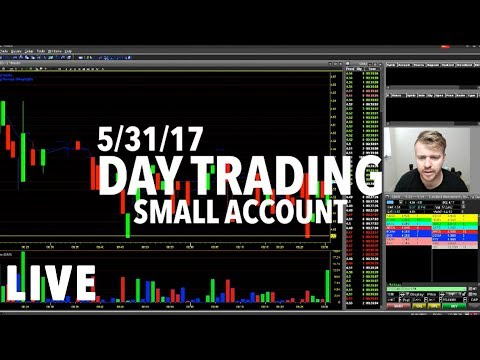 5/31/17 DayTrading Small Account BROKER PROBLEMS! WHAT A JOKE