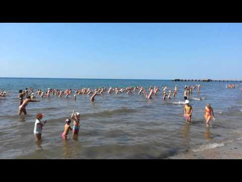 Заозерное 2013. Крим. Пляж Маяк.