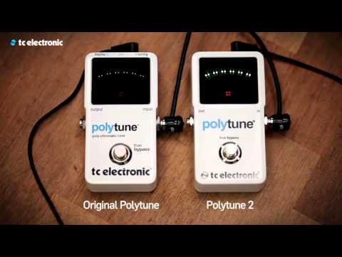 tc electronic polytune 2 electronic guitar tuner youtube. Black Bedroom Furniture Sets. Home Design Ideas