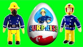 Sam le pompier Oeufs Surprise jouets Fireman sam Surprise eggs Toys
