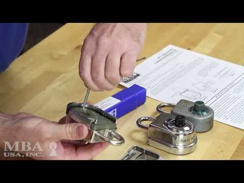 master lock 4401 how to change battery