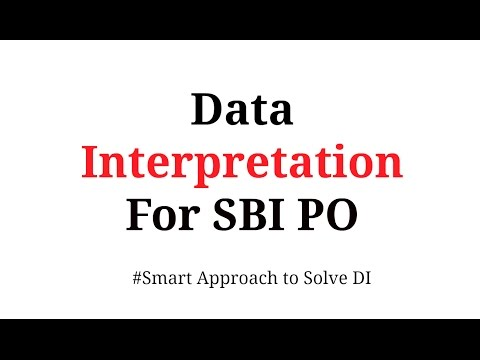 Data Interpretation shortcuts for  Bank PO | In Hindi Part 1