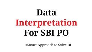 Data Interpretation shortcuts for  Bank PO | In Hindi Part 1
