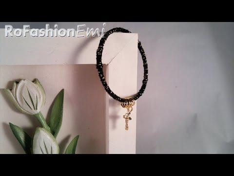 Tutorial Ro Fashion - Cum sa faci o bratara in 10 minute DIY