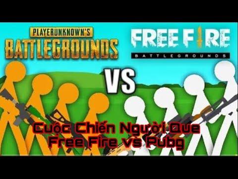 [Phim Free Fire] Đại Chiến Người Que| Free Fire Vs PUBG| Joker Tv