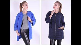 Женская одежда с AliExpress - Лёгкая куртка-парка