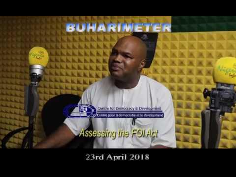 BuhariMeter Radio 23042018