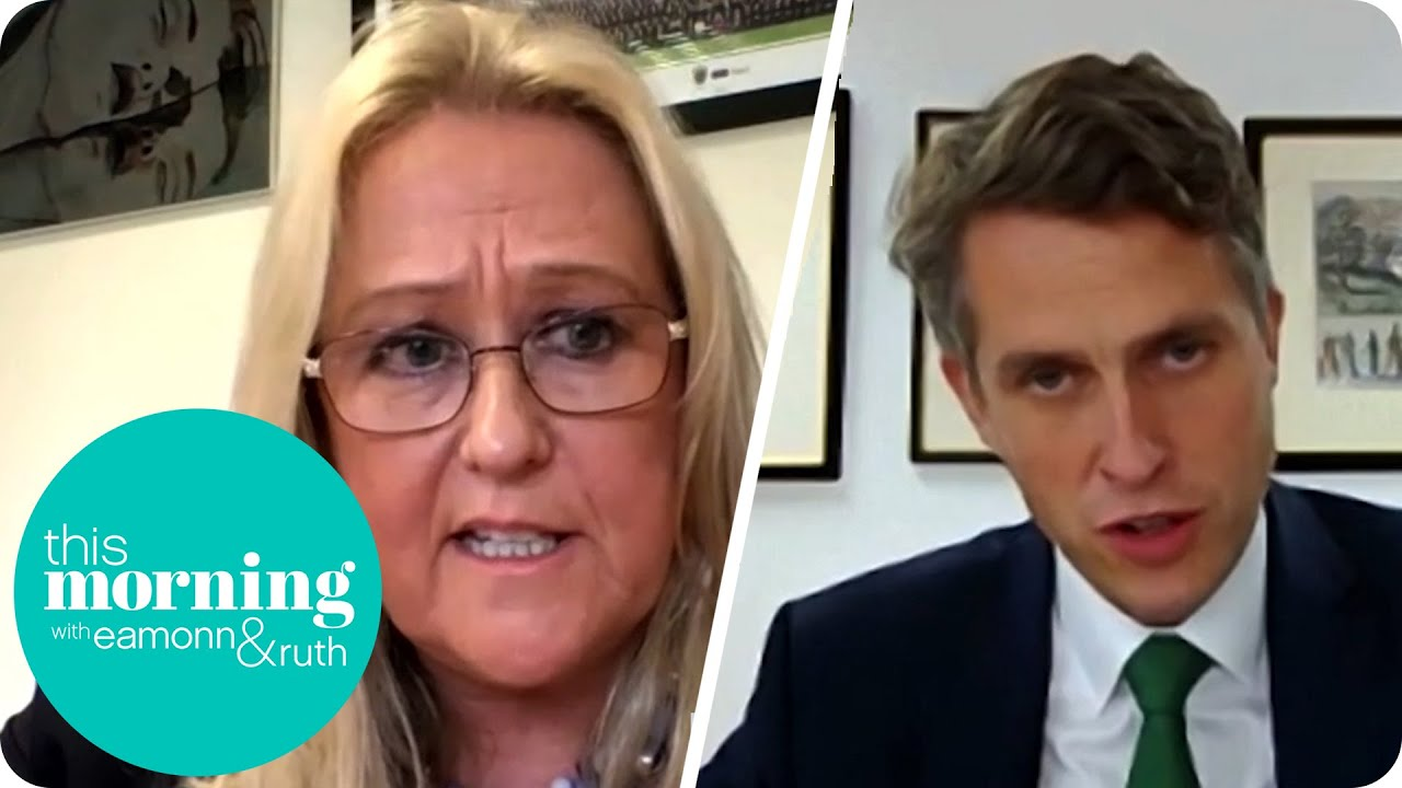 Education Secretary Gavin Williamson Clashes with Headteacher over A-Level Results   This Morning
