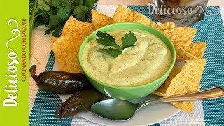 Dip de Jalapeo y Queso Crema  Creamy Jalapeno Dip