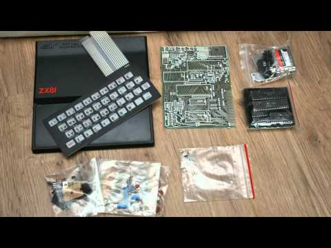 Sinclair ZX81 kit - unbuilt - 1981