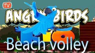 Angry Birds Rio - Part 9 Beach Volley Level 16 -20 - Gameplay Walktrough