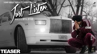 Just Listen Full Song Sidhu Moosewala Byg Byrd Sunny Malton New Punjabi Songs 2018