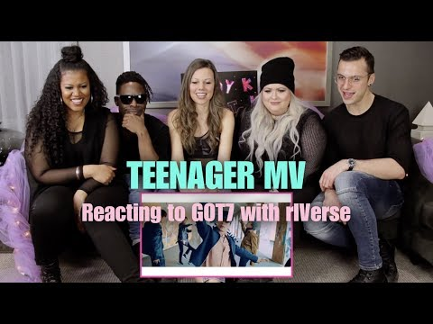 Teenager by GOT7 - MV Reaction with rIVerse