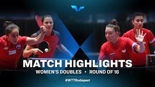 Winter/Vega vs Tailakova/Abraamian | WTT Contender Budapest 2021 (R16)