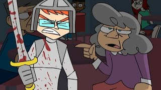 Heckler doesn't stand a chance - Animated