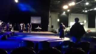 Chevelle Franklyn - Soundcheck @ RCCG Festival of Life 2012, London Excel