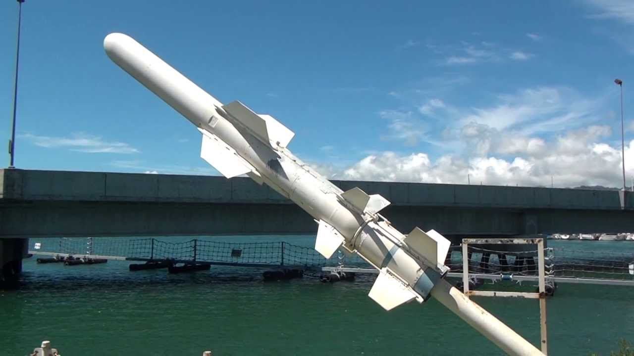 Harpoon Missile at Pearl Harbor - YouTube