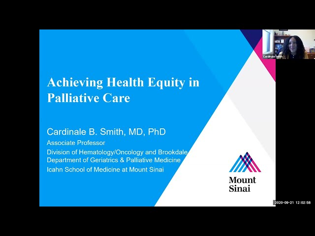 Achieving Health Equity in Palliative Care