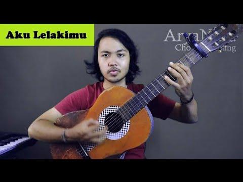 Chord Gampang (Aku Lelakimu - Virzha) by Arya Nara (Tutorial Gitar)