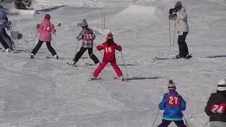 牛岳温泉スキー場にて2018