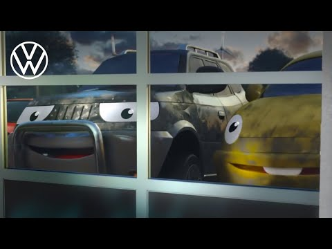 Animated ad: The place you want to be | Volkswagen