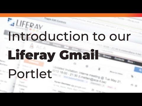 Liferay Gmail Portlet