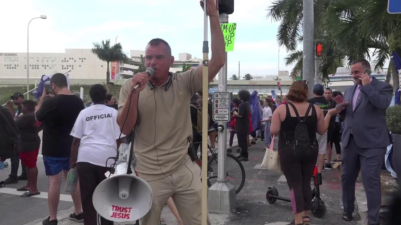 Democratic Nominee Debate Miami | Jesus Was Manifested Through The Preaching