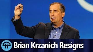 CEO Brian Krzanich Resigns from Intel