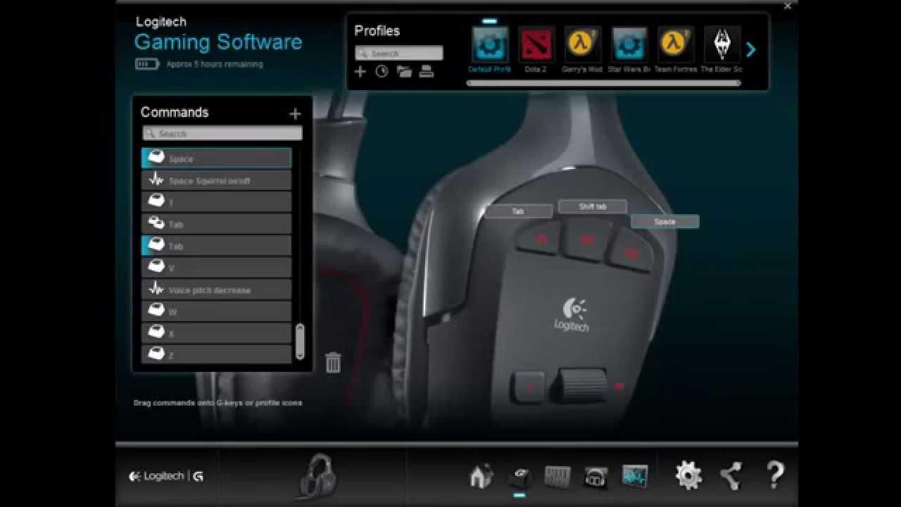 logiciel logitech g930